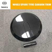 W463 de fibra de carbono de neumático de repuesto trasero para Benz W463 clase G G350 G400 G550 G63 G65 de carreras de automóviles cubierta de neumático de coche