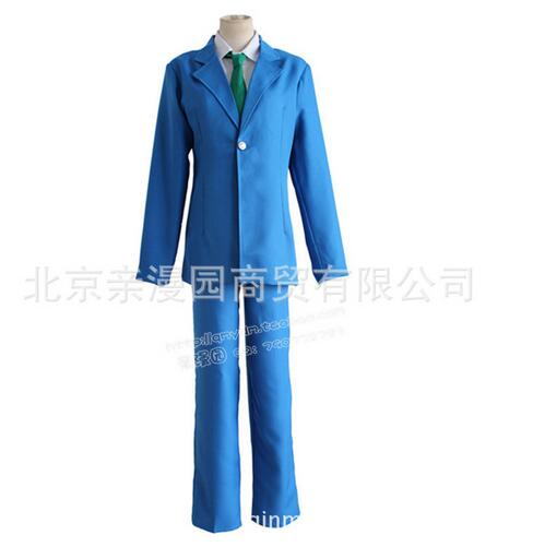 Detective Conan Case Closed hot selling new brand Kudou Shinichi school uniform suit Cosplay Costume free shipping
