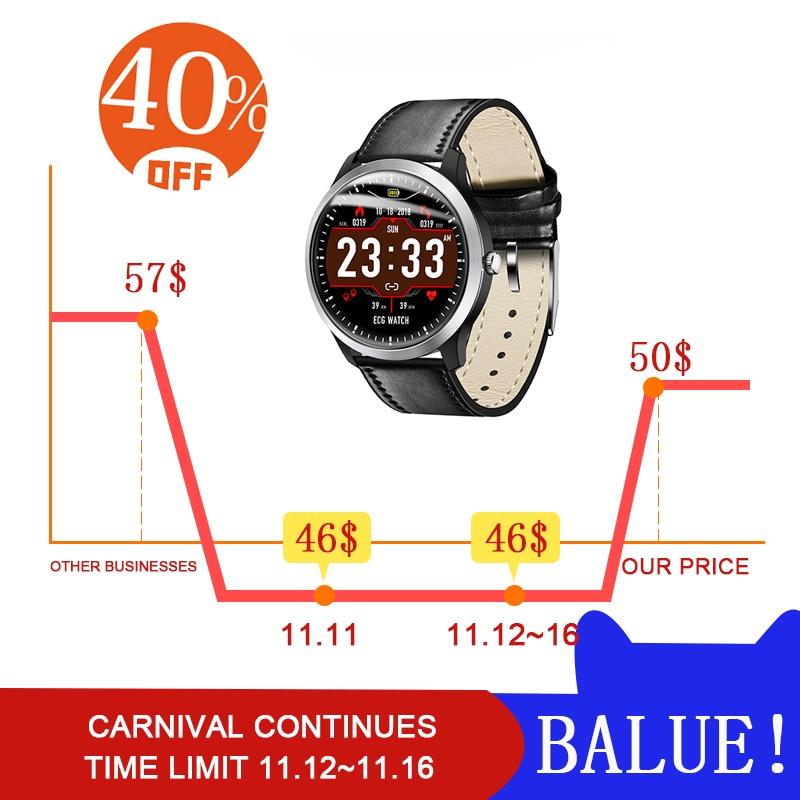 Top smart watch women men Leather strap Pedometer for Android iphone Heart rate watch watch sport women waterproof womens watch все цены
