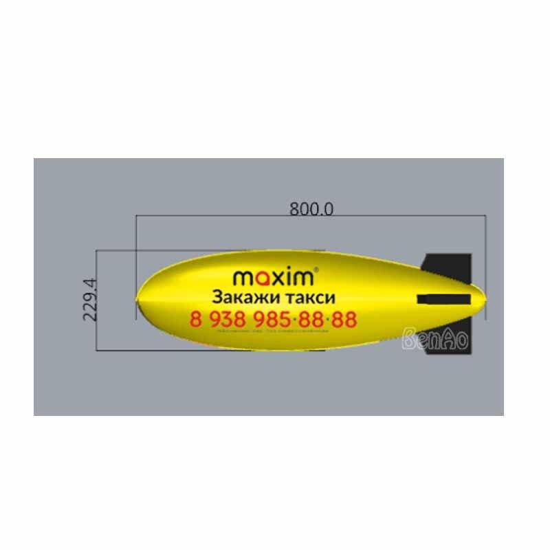Dirigeable gonflable d'air de PVC de conception faite sur commande de livraison gratuite de BENAO