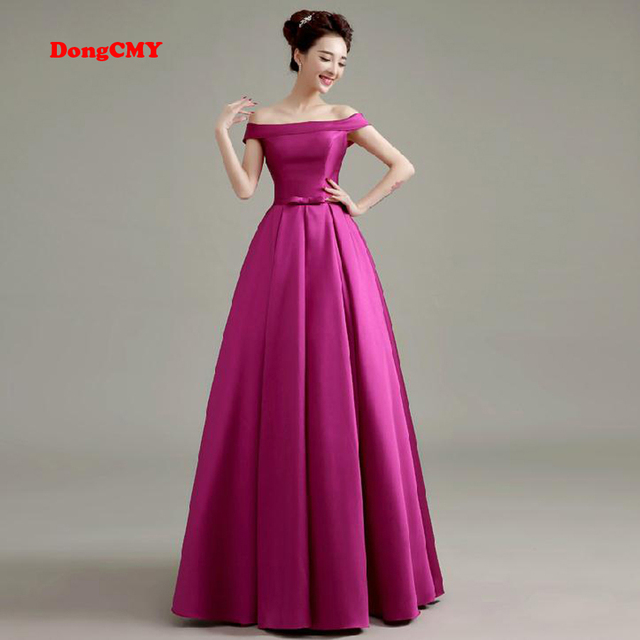 Aliexpress Buy Dongcmy 2018 Double Shoulder Bridal Formal