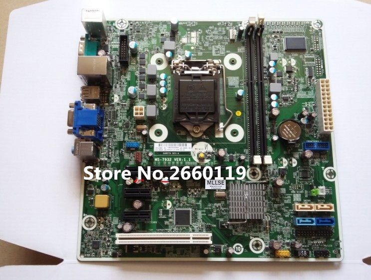 Mainboard for 480 G1 MT MS-7932 H81 1150 747910-001 747865-001 motherboard Fully tested