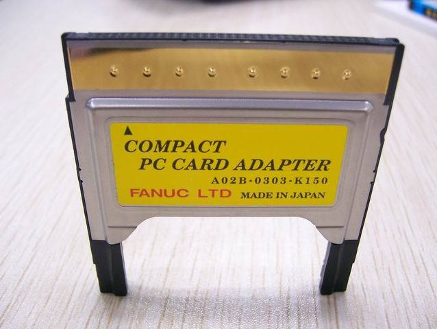 CF card slot FANUC pcmcia card compact pc card adapter a02b-0303-k150