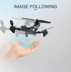 "Image 3 - Teeggi M70 RC Drone עם מצלמה HD 4K מצלמה 1080P FPV Selfie Dron Quadcopter מקצועיים לעומת E58 VISUO XS809HW XS809S מל ""טים"