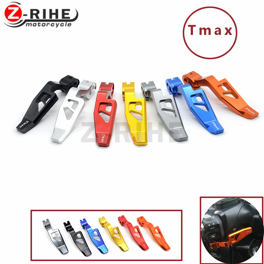 for yamaha Motorcycle CNC Aluminum High Quality TMAX 500 08-11 T-MAX 530 12-14 XP530 CNC Motorcycle Parking Brake Lever 6 COLc tamiya 1 12 yamaha motorcycle model yzr m1