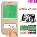 Meizu m2 mini fuands pu cubierta del tirón del cuero cubierta de la caja del teléfono caso para meizu m2 mini (5.0 pulgadas) bolso del teléfono