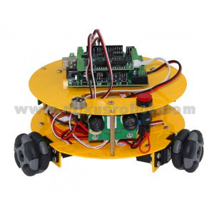 3 WD 48 mm Omni Wheels Arduino compatible con el coche de robótica - Escuela y materiales educativos - foto 3