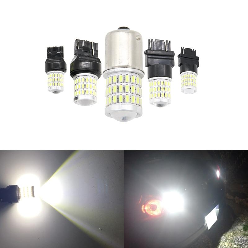 2x Alfa Romeo 166 Bright Xenon White 3SMD LED Canbus Number Plate Light Bulbs