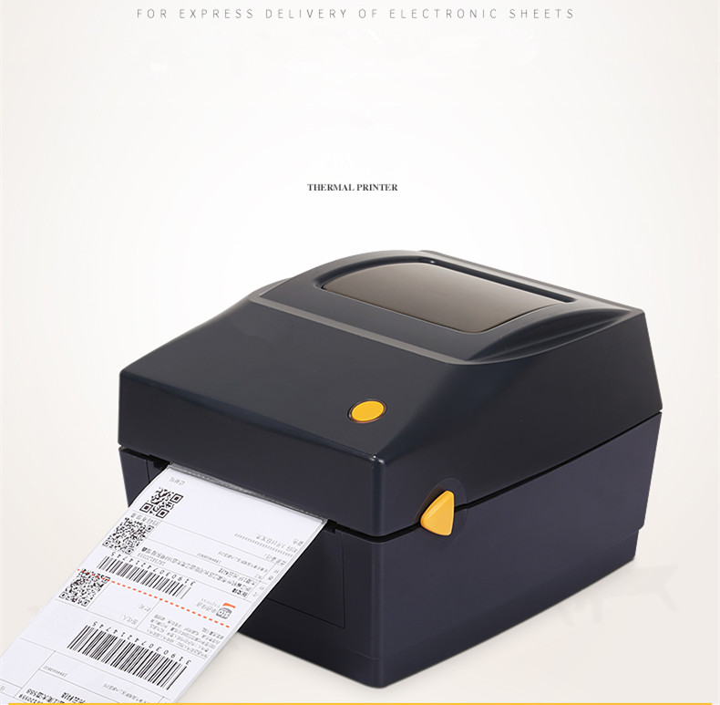 2018NEW clothing label Support 108mm Width electronic surface single printer E mail Bao courier Thermal Barcode