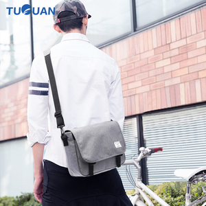 Image 5 - New 2019 Men Messenger Bags Mens Fashion Business Travel Shoulder Bags female Canvas Briefcase Men Crossbody Bag Unisex Handbag