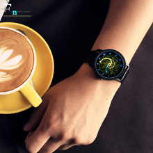 2017gift Enmex cool style wristwatch star orbital concept star vortex the story of the Starry sky casual quartz fashion watch