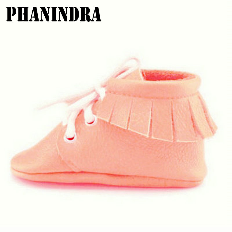 New fringe genuine leather Baby Shoes Tassel British style Baby boys First Walkers Fashion Shoes baby moccasins boots