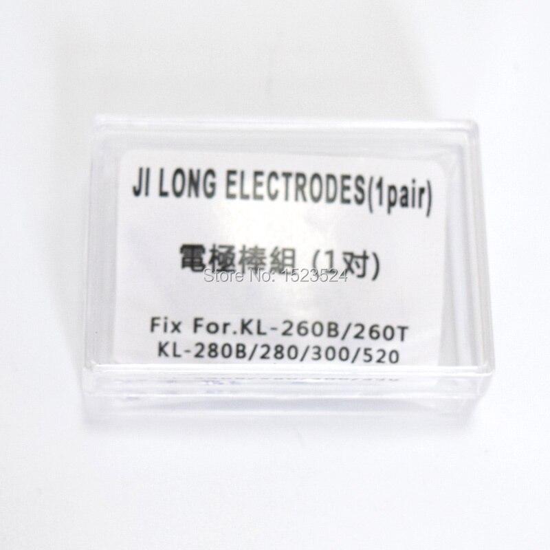 Freies Verschiffen 1 Para Elektroden für Jilong Spleißgerät KL-260B KL-260T KL-280 KL-280G KL-300 KL-520