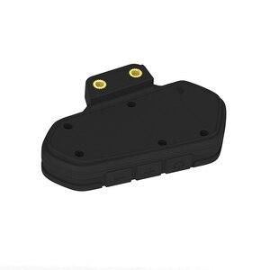 Image 5 - 黒防水オートバイヘルメットインターホン Qtb35 ヘルメットインターホン Bluetooth インターホンモーターインターホンヘッドフォン Fm ラジオ