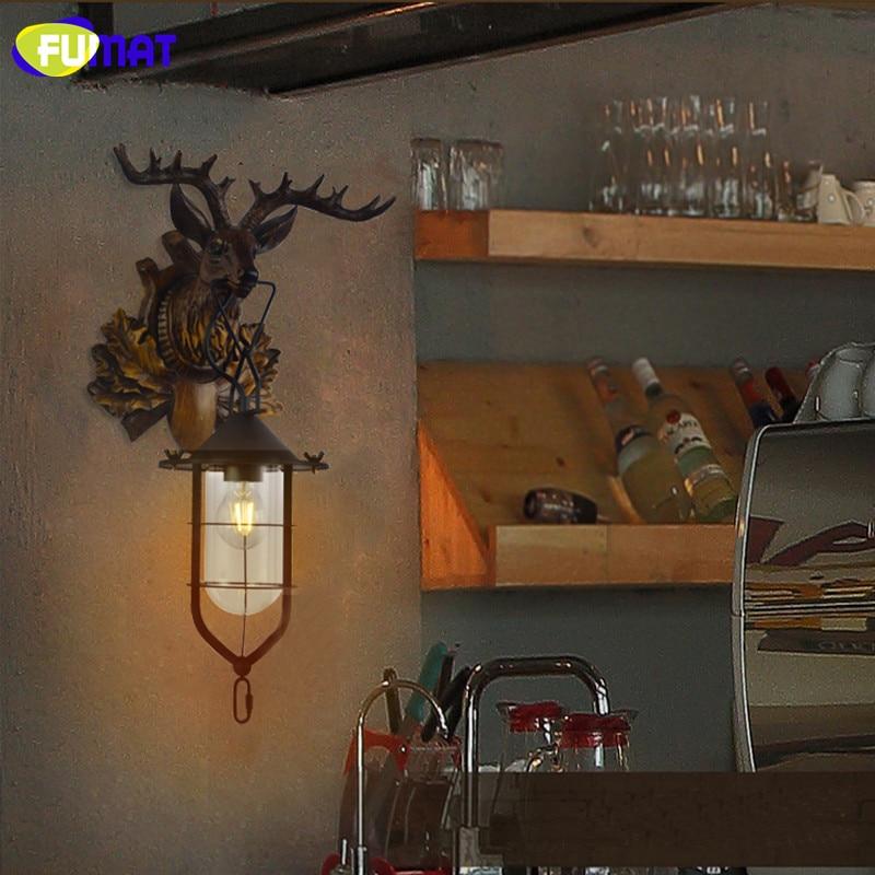 Deer Head Wall Lamp 11
