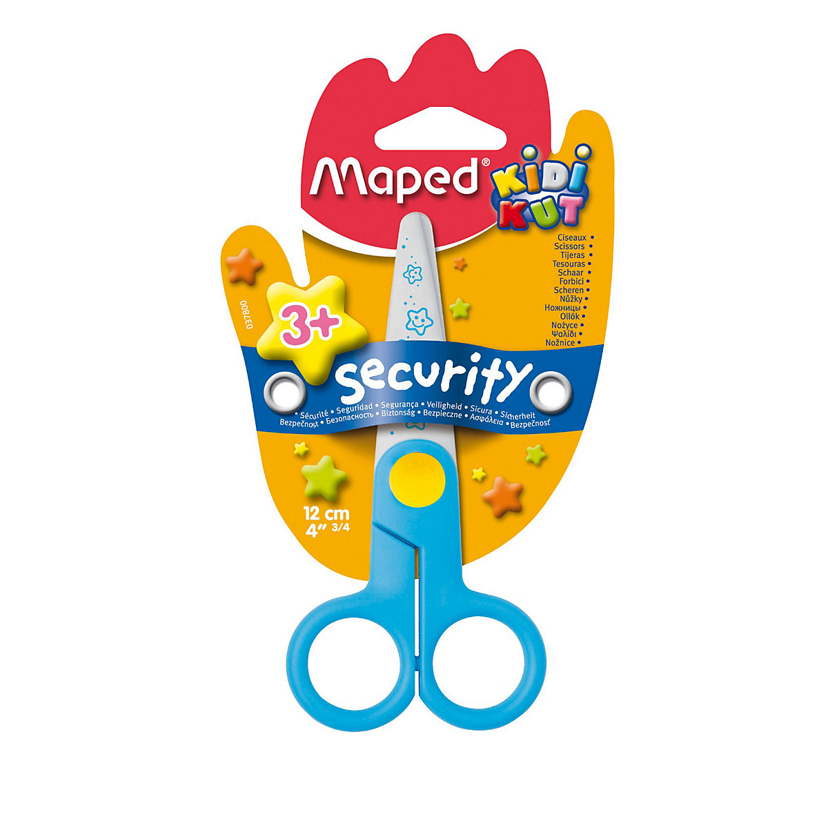 MAPED Scissors 3157377 office scissor for school for children for boys and girls 30 teeth thinning scissors thinning shears japan quaity 6 thinning scissors for hair salon s styling use
