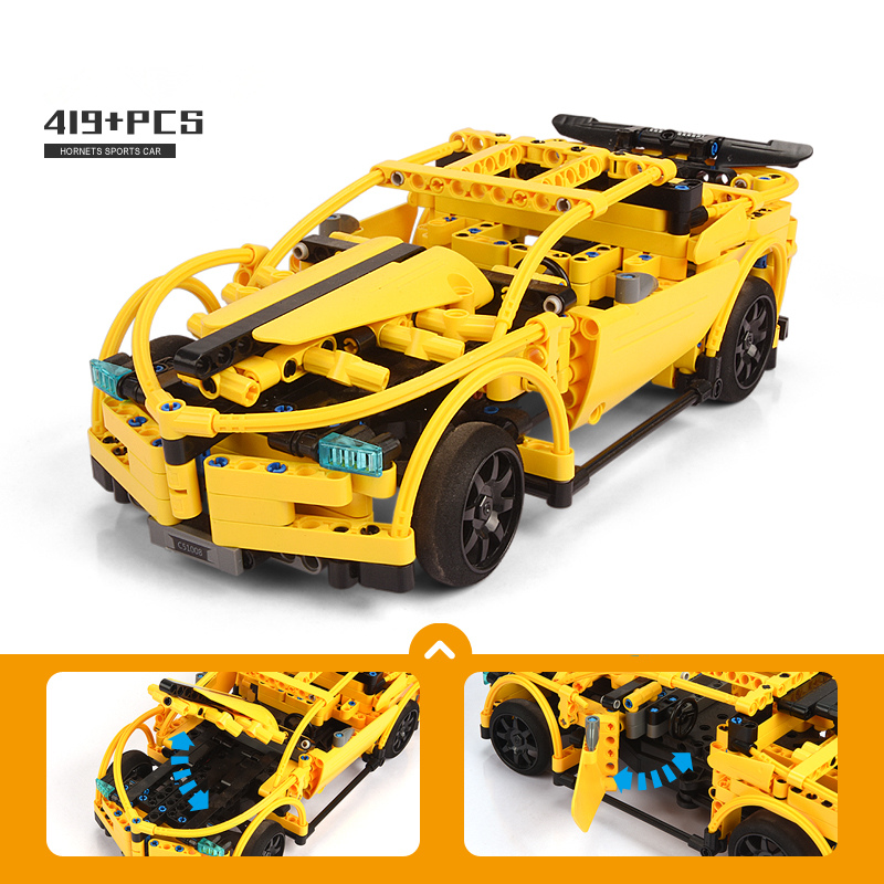 Cada serie técnica RC deporte coche modelo carreras coche SUV DIY bloques de construcción Control remoto coche ladrillos juguetes para niños-in Bloques from Juguetes y pasatiempos    2