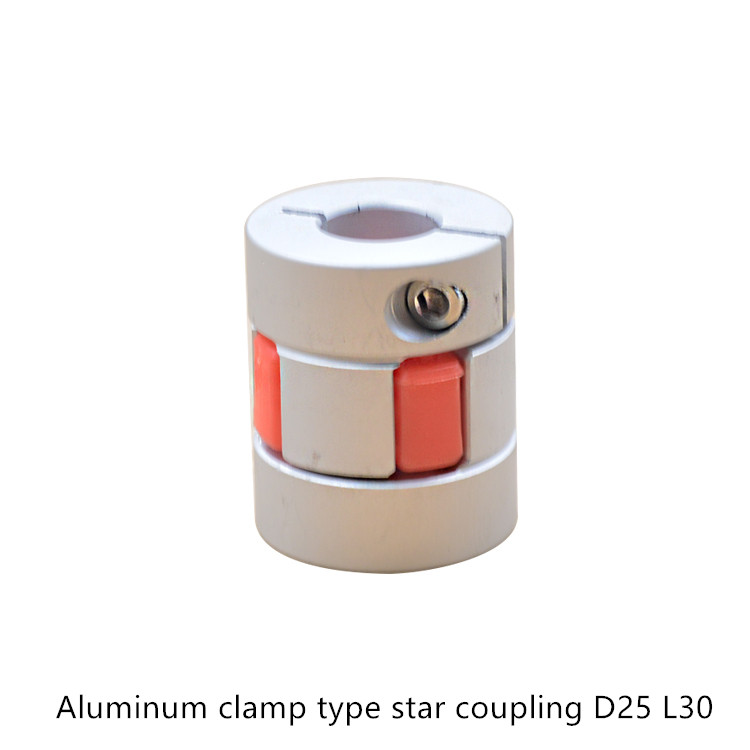 25 30 Www Bing Com: Flexible Plum Clamp Coupler D25 L30 Shaft Size CNC Jaw