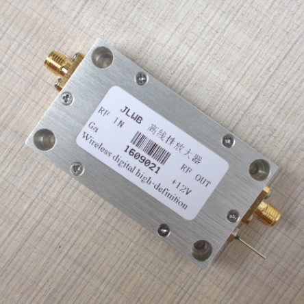Короткая волна FM радио частота широкополосный высокочастотный высокий линейный усилитель мощности 1 200 МГц 1 Вт