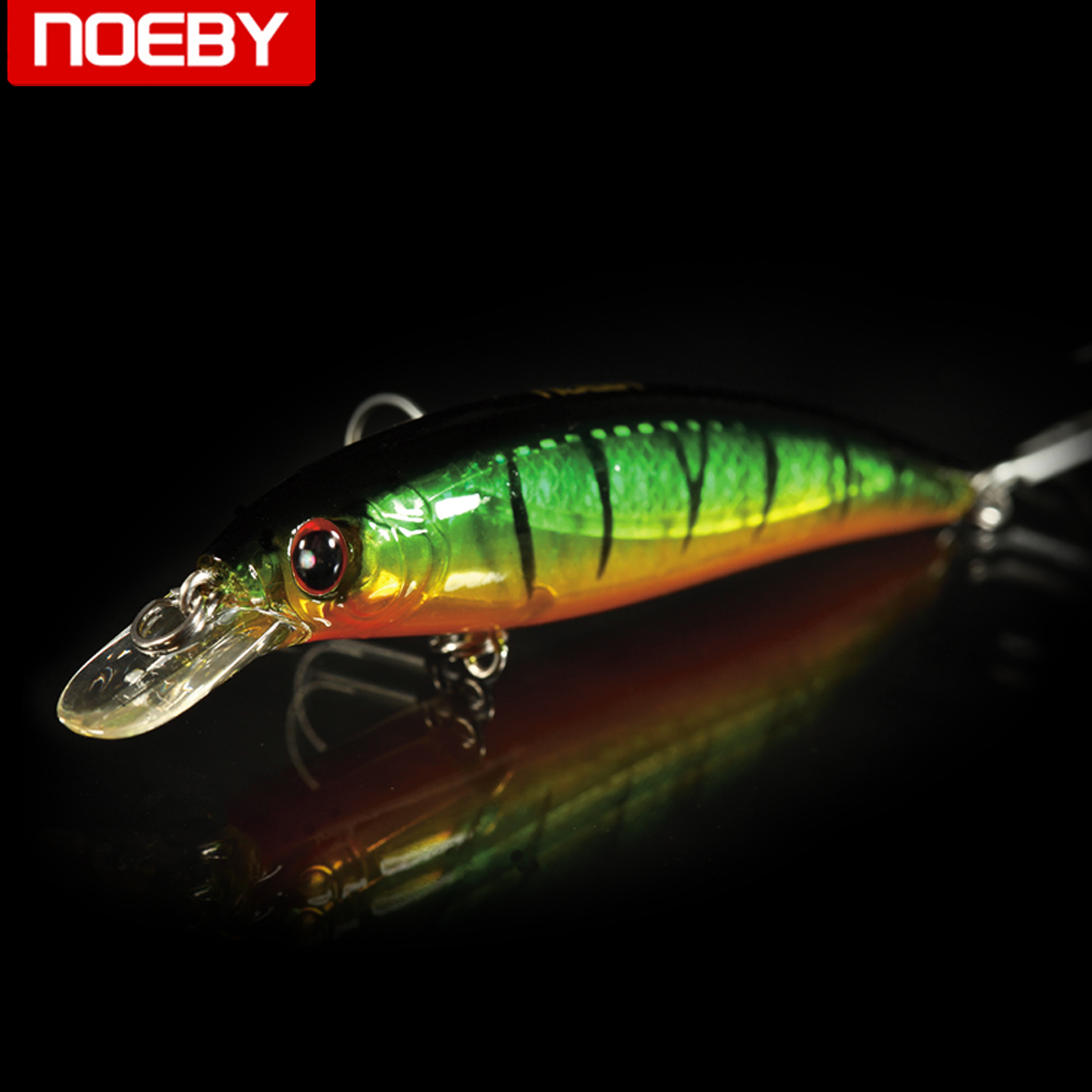 NOEBY Floating Minnow Bass Fishing Lures Trout Plastic Fishing Wobbler Hard Baits  Artificial Lure Set Sea Fishing Tackle 8pcs lot 3 6g 5cm fishing lures carp artificial bait wobbler fish minnow bass hard lure crankbait trout tackle hook
