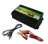 저렴한 가격 1000 w dc 12 v ac 220 v 태양 광 인버터 ups baterry 충전기 usb 충전기 및 led 디스플레이