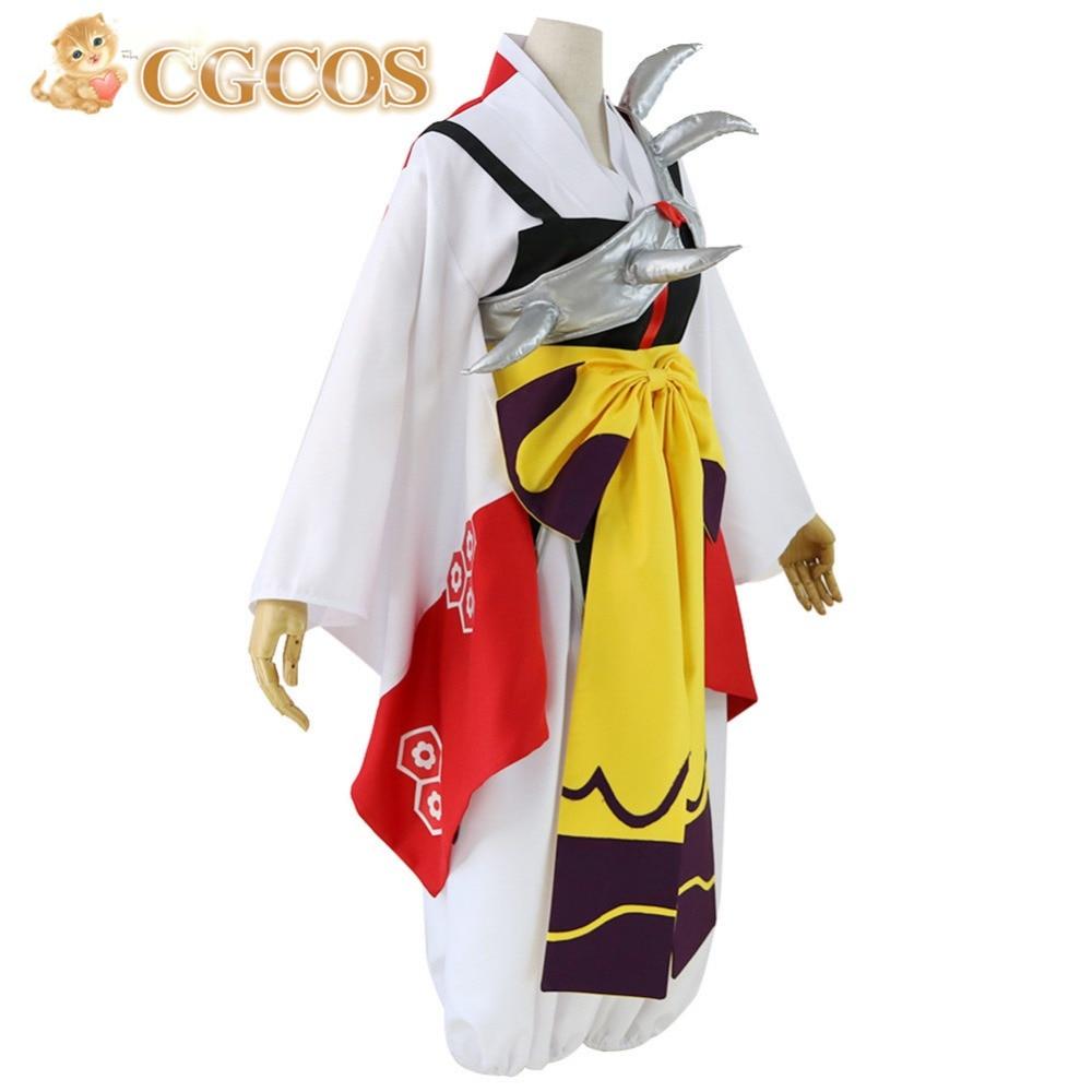 CGCOS Free Shipping Cosplay Costume Inuyasha Sesshomaru New in Stock ...