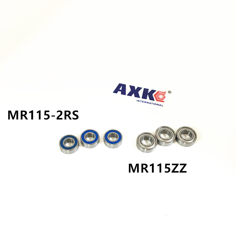 L-1150 MR115-2RS MR115ZZ MR115 Miniature Deep Groove Ball Bearing 5*11*4 mm for 3D Printer gcr15 6326 zz or 6326 2rs 130x280x58mm high precision deep groove ball bearings abec 1 p0
