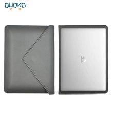 Сумка для ноутбука чехол из микрофибры кожаный huawei MateBook X Pro 13,9 «двойной карман конверт стиль