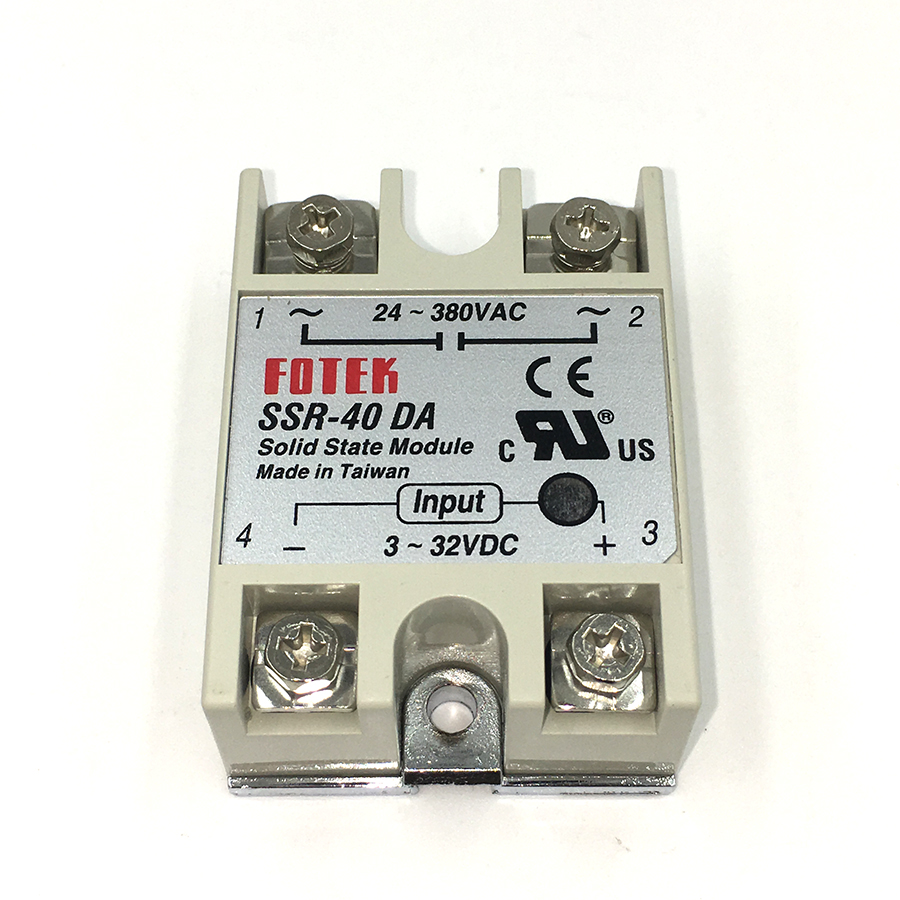 10PCS Industrial Solid State Relay SSR-40DA 40A /250V 3-32VDC AC SSR 40DA relay solid state