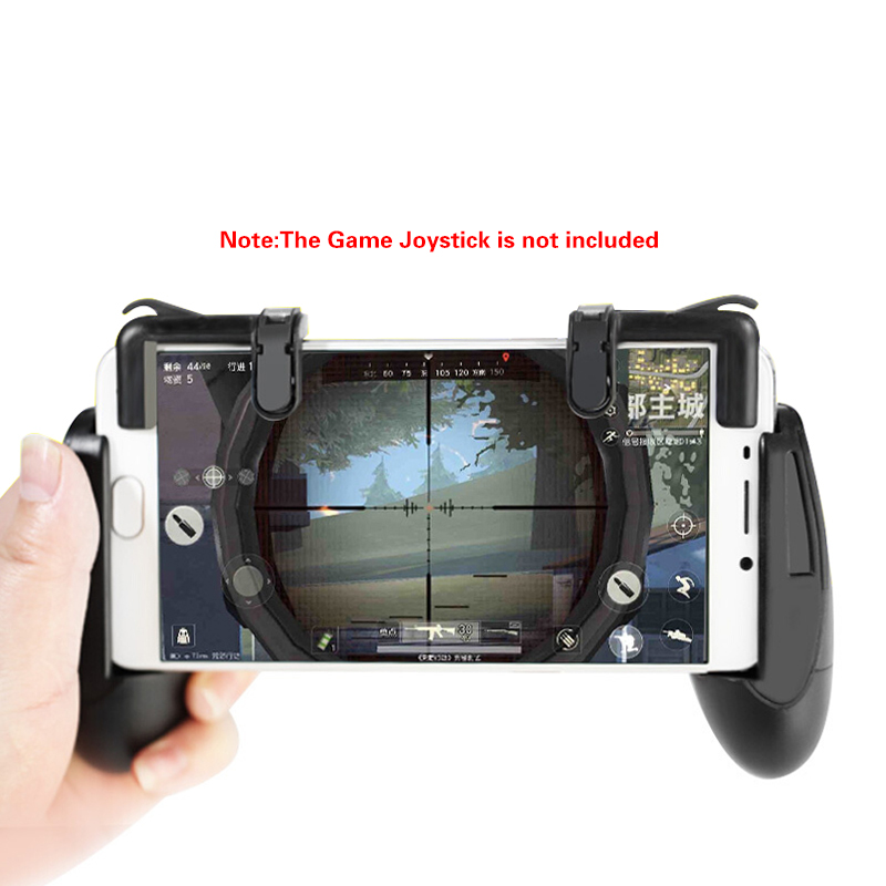 Phone Gamepad Trigger Fire Button Aim Key L1R1 Shooter Controller Joystick for PUBG Knives Out Rules Screw Version Accessories in Replacement Parts Accessories from Consumer Electronics
