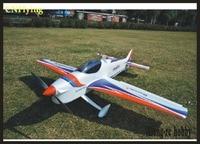 EPO PLANE RC 3A airplane MODEL HOBBY 50E 50 CLASS wingspan 1380MM F3A airplane KIT set(ONLY PLANE NO RADIO/ ESC/ SERVO)