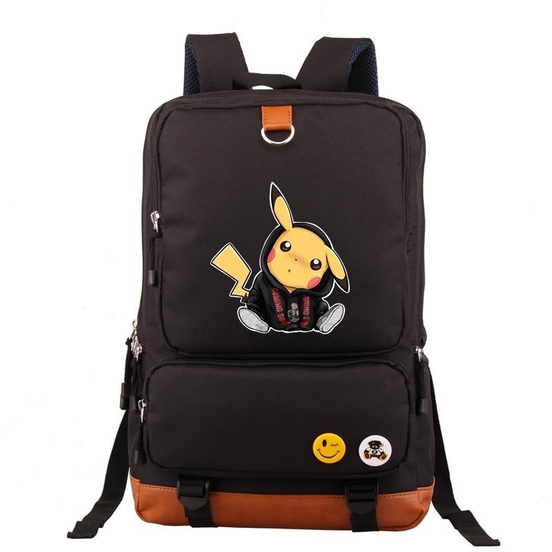 Mochila Fashion Pokemon Go Backpack Students Backpack computer Backpack school  BagsMochila Fashion Pokemon Go Backpack Students Backpack computer Backpack school  Bags