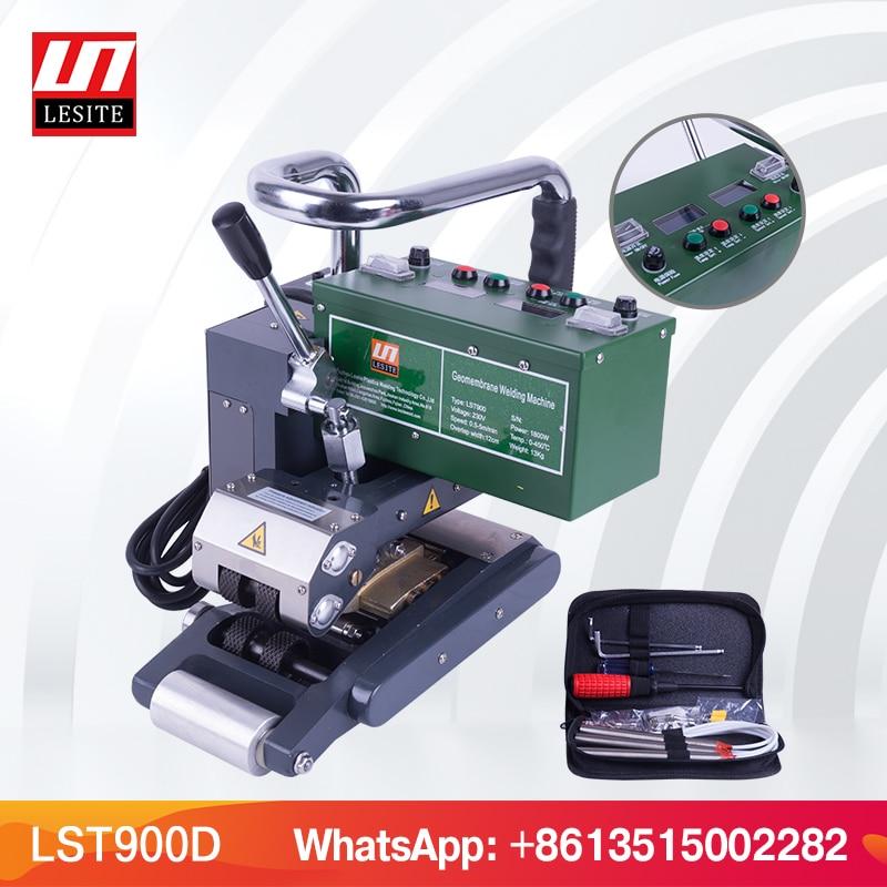 LESITE LST900 HDPE Geomembrane Welding Machine Seam Sealing Hot wedge welder Automatical overlap membrane welder for landfill платье seam seam mp002xw18uic