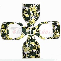 Electric Scooter Plastic Cover Hoverboard Green Camouflage Outer Sheel Electric Standing Scooter Case For 6 5inch