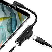 Oppselve USB Type C to 3.5mm Jack Adapter For Xiaomi Mi 9 8 Mi9 Huawei Mate 20 P30 Samsung S10 Type-C OTG USB-C USBC Splitters
