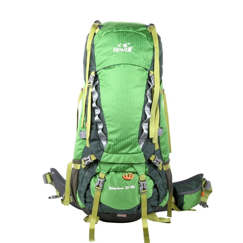 Hewolf 65L Outdoor Backpack Unisex Travel Multi-purpose climbing backpacks Hiking big capacity Rucksacks camping sports bags