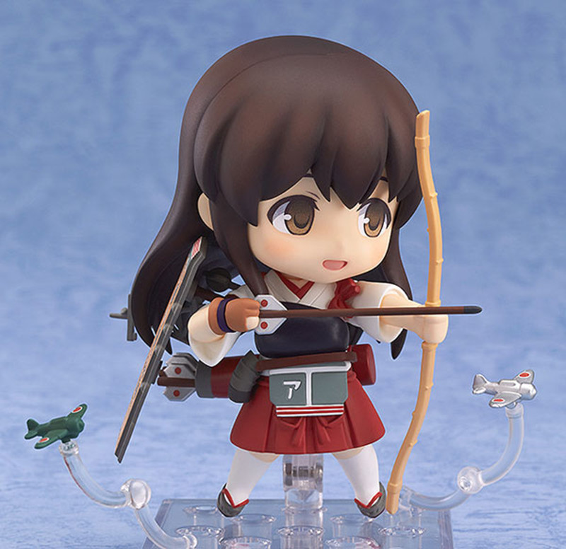 Cute Anime Japanese Game Kantai Collection Akagi Action Figure Character PVC Toy In Figures From Toys Hobbies On