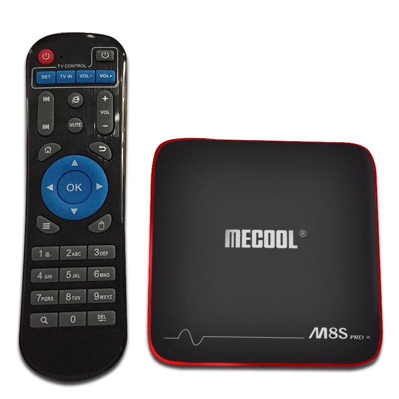 Mecool Set-Top Box M8S Pro W Android 7.1 Smart TV BOX S905W Quad Core 2GB+16GB support 2.4G Wireless WIFI media box