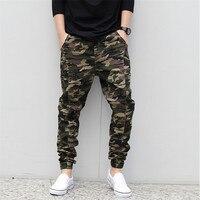 Męskie Spodnie Kamuflaż wojskowy Hip hop Harem Spodnie Męskie Spodnie Dresowe armia pantalones Plus Rozmiar S M L XL 2XL 3XL 4XL