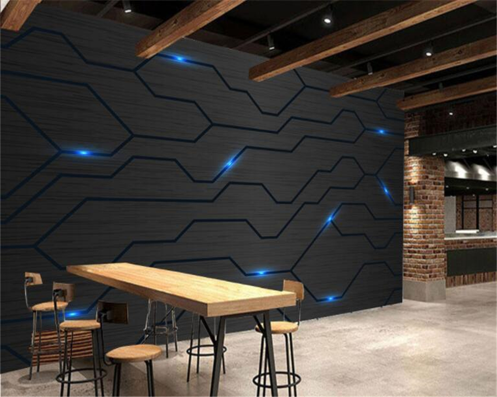 Beibehang 3d Modern Technology Sense Fashion Circuit Diagram Tooling Bedroom Wiring This Includes The Wall Background Papel De Parede Wallpaper Hudas Beauty In Wallpapers From Home