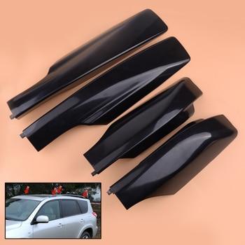 CITALL Black Car Tetto Copertura Cremagliera Bar Ferroviarie Fine Borsette di Ricambio Misura Per Toyota RAV4 XA30 2006 2007 2008 2009 2010 2011 2012