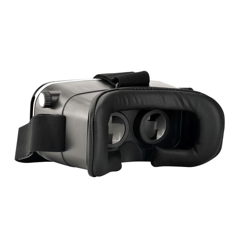 18 Original Shinecon VR Pro Virtual Reality 3D Glasses Headset VRBOX Head Mount Google Cardboard Helmet For Smartphone 4-6inch 26