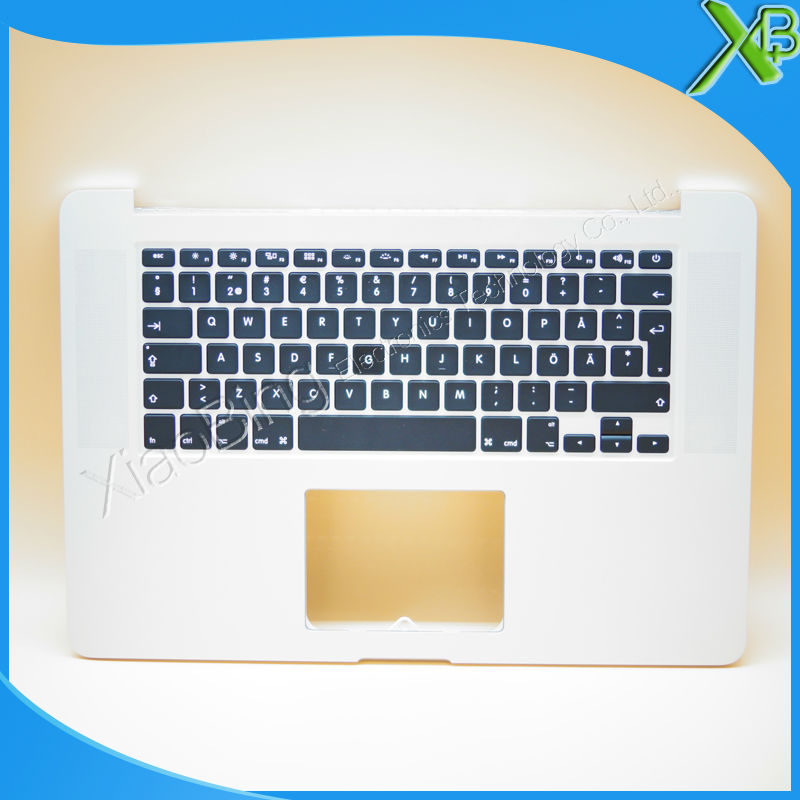 New TopCase with SE Swedish Sweden Keyboard for MacBook Pro Retina 15.4