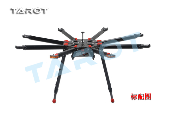Tarot-rc X8 8 Aixs Umbrella Type Folding Multicopter Uav Octocopter Drone TL8X000 With Retractable Landing Gear f11270 tarot x8 8 aixs umbrella type folding multicopter uav octocopter drone tl8x000 with retractable landing gear