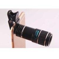 Universal Clip 12X Zoom Telephoto Telescope Camera Phone Lens Lenses Kits for Samsung Galaxy Note 9