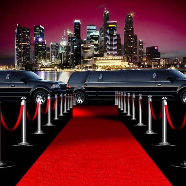new york city skyline car vip red carpet celebrity