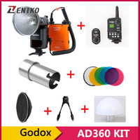 Godox AD360 AD-360 Outdoor Shooting Light 360w Flash + FT-16 Trigger + Y Cable + AD-S7 Soft Box + AD-S17 Diffuser
