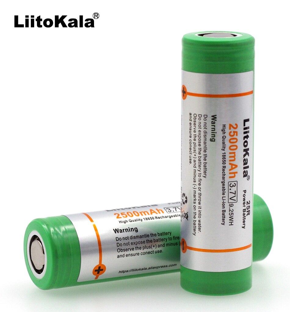 4pcs/lot 100% new Original 18650 INR1865025RM 20A discharge li-lon Rechargeable Power Battery For Samsung E-cigarette use