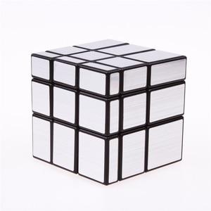Image 3 - 3x3x3 Magic Mirror Cubes Cast Coated Puzzle  Professional Speed Magic Cube  Magic Education Toys For Children