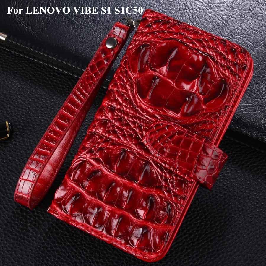 imágenes para Para Lenovo Vibe fundas S1 titular de la tarjeta caso de la cubierta para lenovo vibe s1c50 s1 caja del teléfono multifunción de cuero tirón de la carpeta cubierta